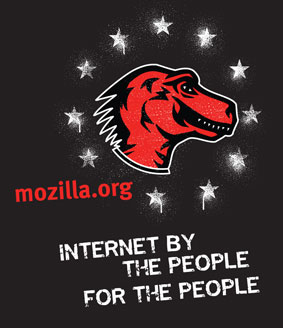 Mozilla t-shirt design