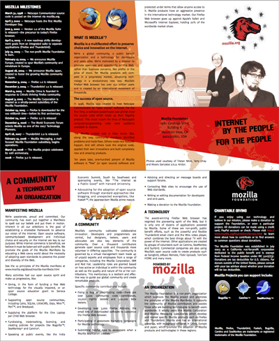 Mozilla brochure draft