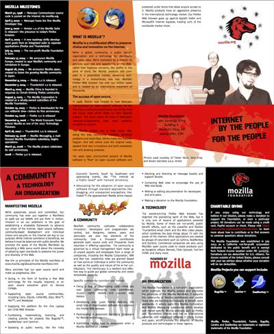 Mozilla brochure draft